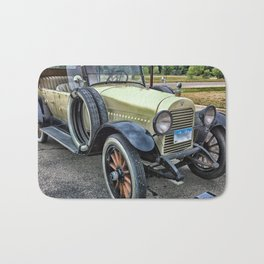 Vintage Cars Bath Mat