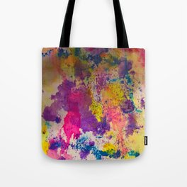 Water Color Fanatic Tote Bag