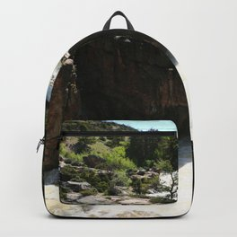 Roaring Waters Of Shell Falls Backpack