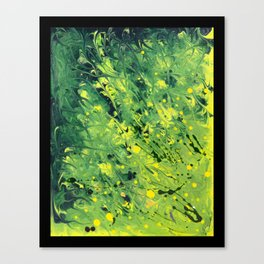 Wolf Flora, Gut Biome Canvas Print