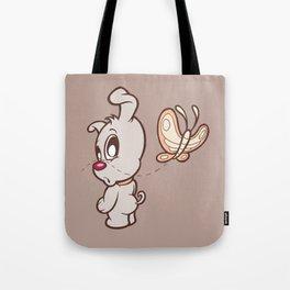 Luna & Lolli Brown - Luna Butterfly Tote Bag