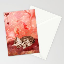 Cute little kitten Stationery Cards