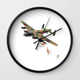 British hospitality Wall Clock