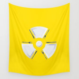 Polluted - Dinner Time Symbol Wall Tapestry