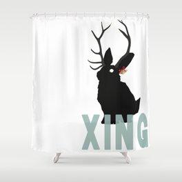 Xmas Jack Shower Curtain