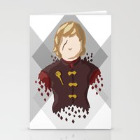 lannister Stationery Cards featuring Tyrion Lannister by itsamoose