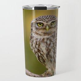 A little owl Travel Mug