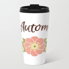 Automne Metal Travel Mug