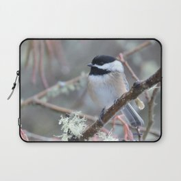 Chickadee in the Alder Tree Laptop Sleeve