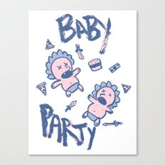 Baby Party Canvas Print