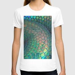 Iridescent Rainbow Snake T-shirt