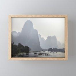 Li River China Framed Mini Art Print