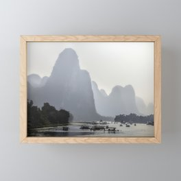 Li River China Framed Mini Art Print