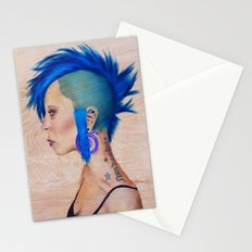 Blue Mohawk Stationery Cards