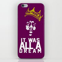 notorious big iPhone & iPod Skins featuring Notorious! by JM Designs