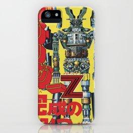Manga 01 iPhone Case