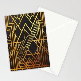 Art Deco Basun Stationery Cards