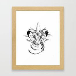 Capricorn Framed Art Print