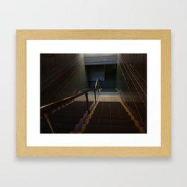 MUSEUM Framed Art Print