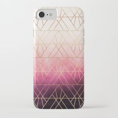 Pink Ombre Triangles Slim Case iPhone 7