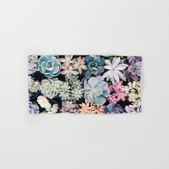succulents Hand & Bath Towel