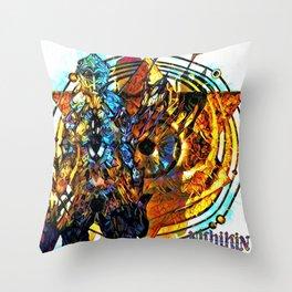 mercenary Throw Pillow