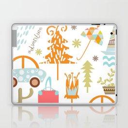 Travl patter 4b Laptop & iPad Skin