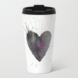 your heart is my target Travel Mug