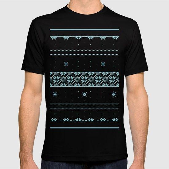 Christmas pattern T-shirt