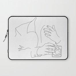 Whiskey Man Laptop Sleeve