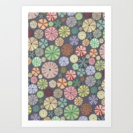 Sea Urchins - Pattern Art Print
