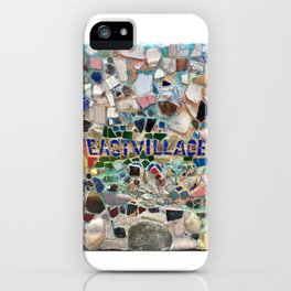East Village NYC Mosaic iPhone Case