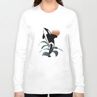 orca Long Sleeve T-shirts featuring Orca by VanessaGF