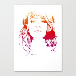 TattooGirl Canvas Print