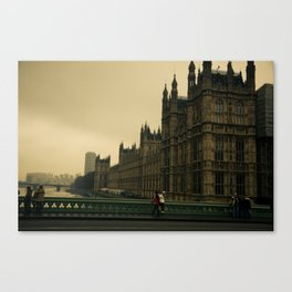 London Fog Canvas Print