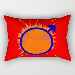 Male Symbol Rectangular Pillow