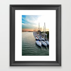 The Parking Framed Art Print