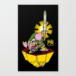 The Legend of Pink Canvas Print