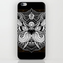 Javanese Ornate Dog iPhone Skin