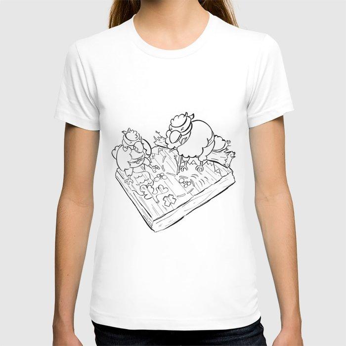 Ninja Strategy - ink T-shirt