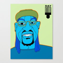 1001 Black Men--#547 Canvas Print