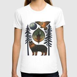 The Bear and the Barn Owl T-shirt
