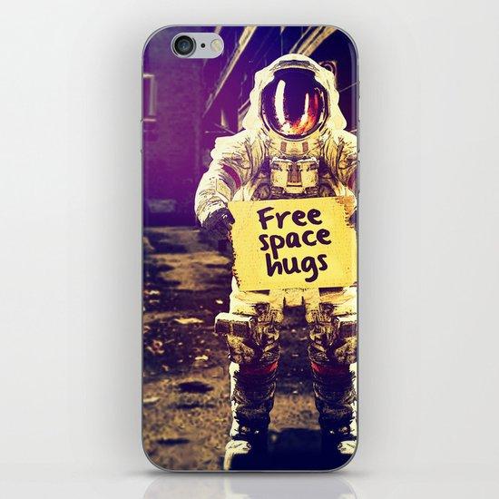 Space hugs iPhone & iPod Skin