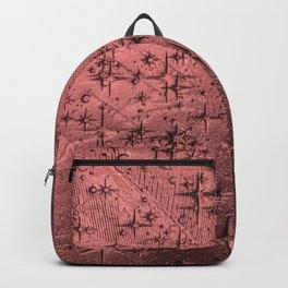 Ancient Metal Star Deep Texture Backpack
