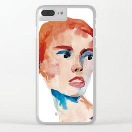 Stains 28 Clear iPhone Case