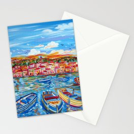 Happy Boats Stationery Cards