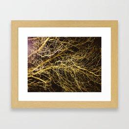 Cluttered Nite II Framed Art Print