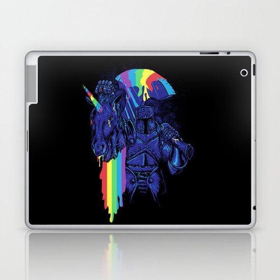 Rainbow harvest (so intense) Laptop & iPad Skin