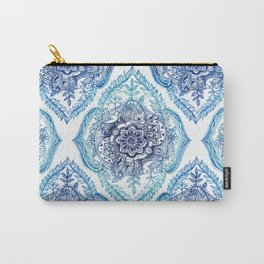 Indian Ink - in Blues Carry-All Pouch