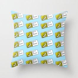 Bananas Pattern Throw Pillow